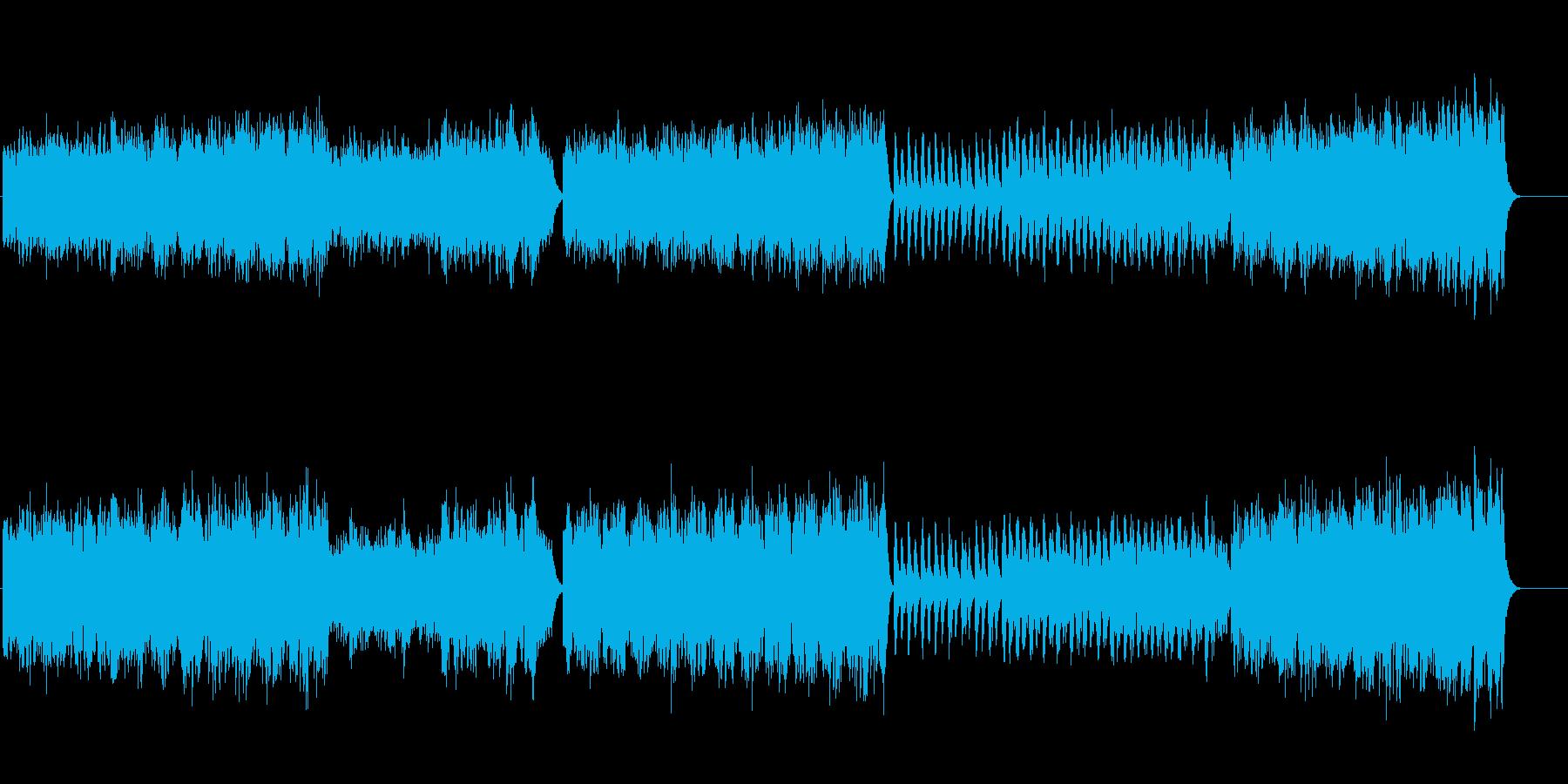 洗練されたテクニカル・アンビエントの再生済みの波形