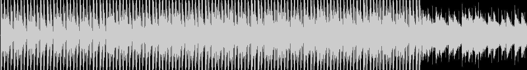 爽やかな空のイメージのBGM_LOOPの未再生の波形