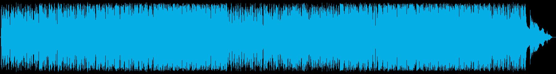 哀愁ピアノスムースジャズの再生済みの波形