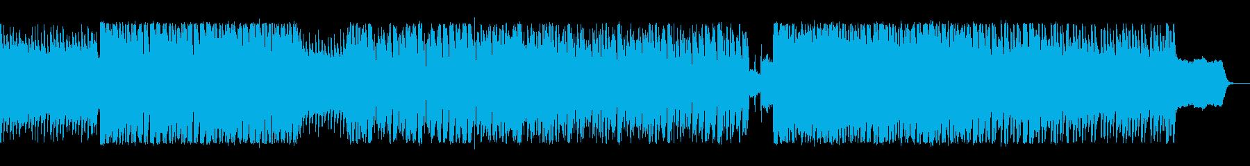 映像に合う爽やかで楽しいエレクトロハウスの再生済みの波形