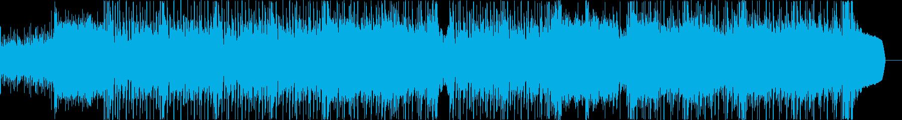 音響的なアップテンポとポジティブな...の再生済みの波形