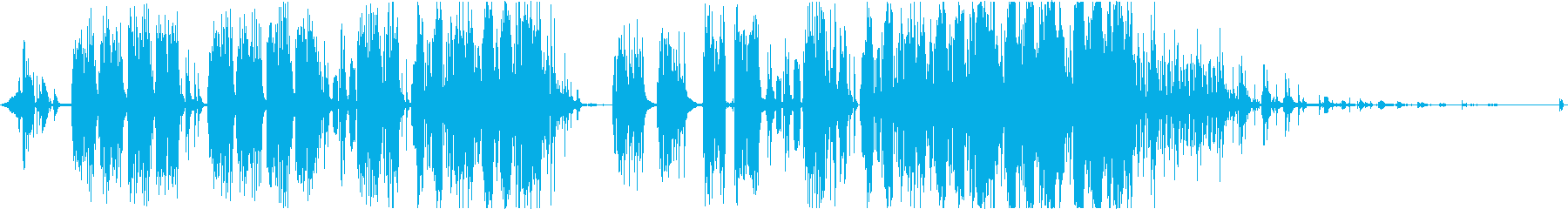 リトルメロディの再生済みの波形
