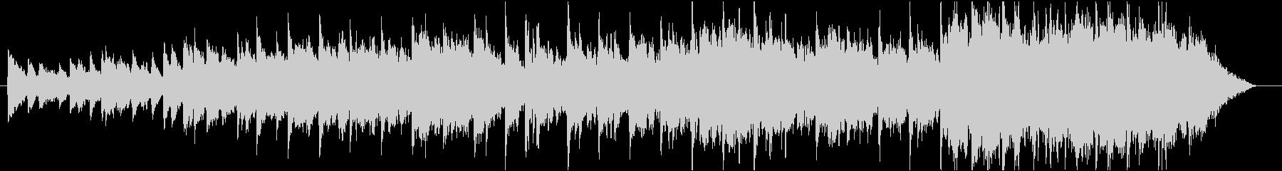 バラード、ルパンぽいヨーロピアンBGMの未再生の波形