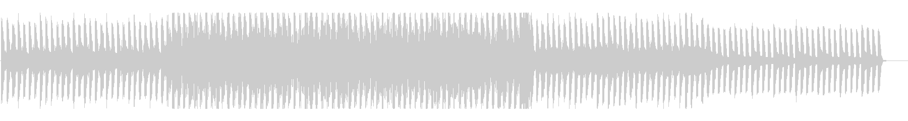 アコギがメインのシンプルなBGMの未再生の波形