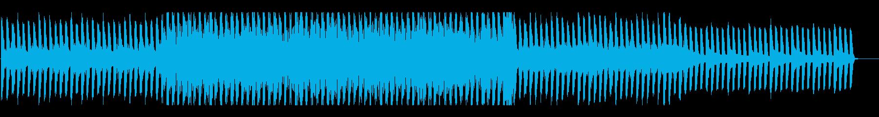 アコギがメインのシンプルなBGMの再生済みの波形