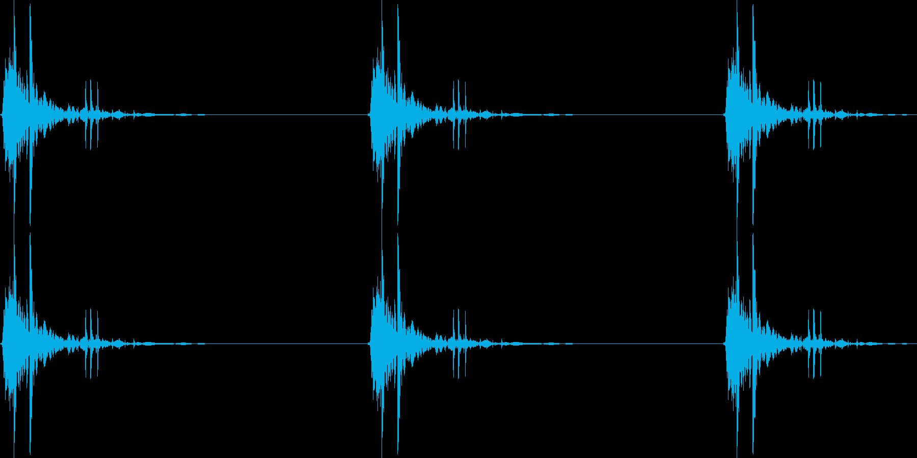 大型機械カッターの再生済みの波形