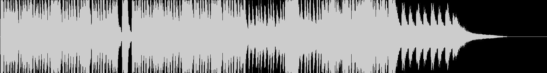 怪しく不気味な変拍子インストの未再生の波形