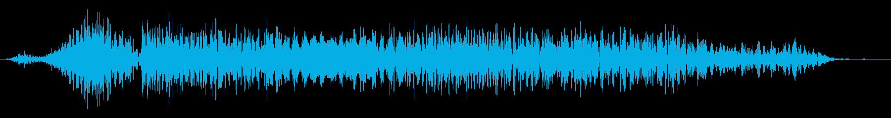 カエル モンスター ゲーム 敗北時の再生済みの波形