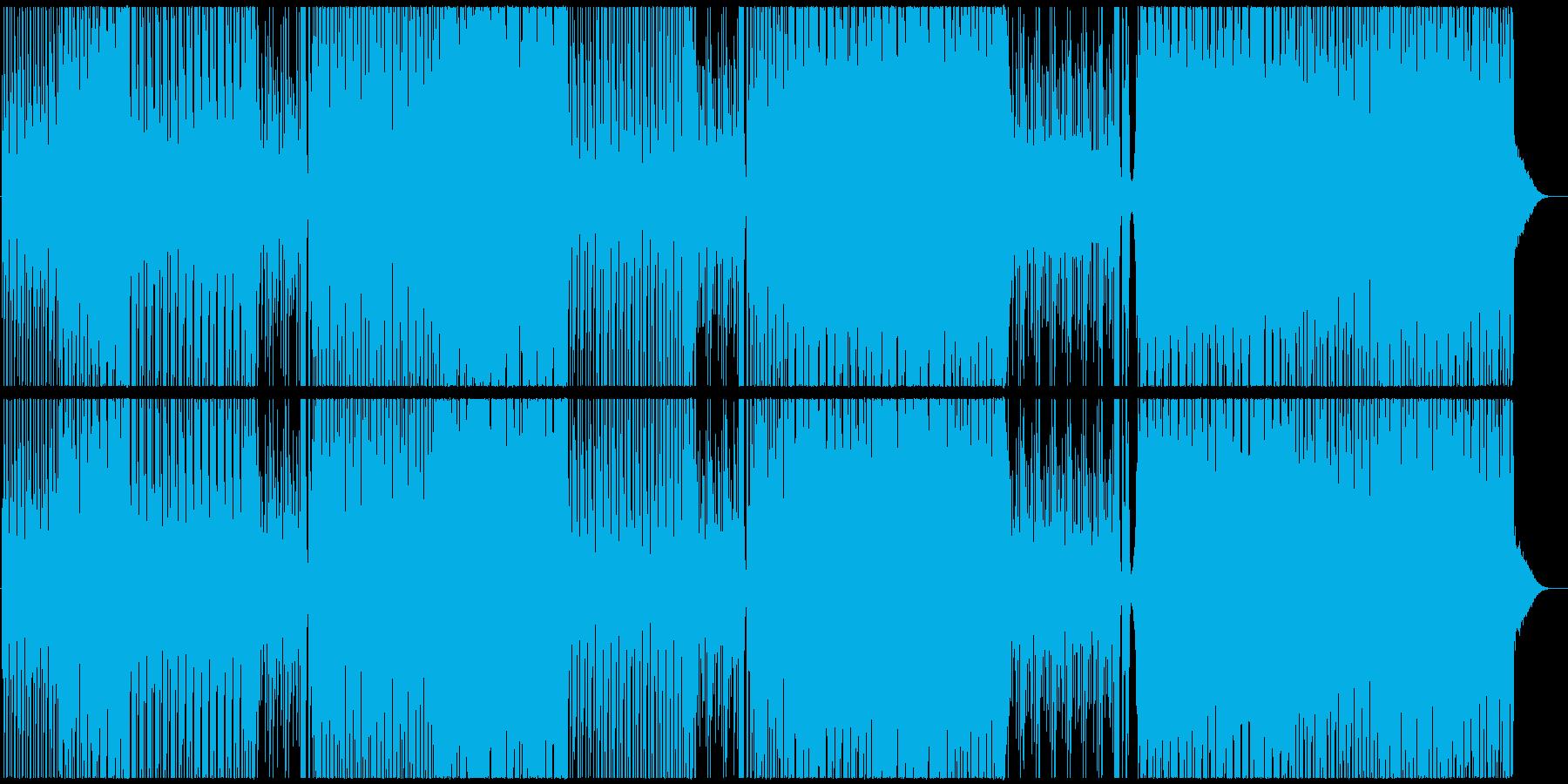 洋楽、チルアウト、トロピカルハウス♫の再生済みの波形