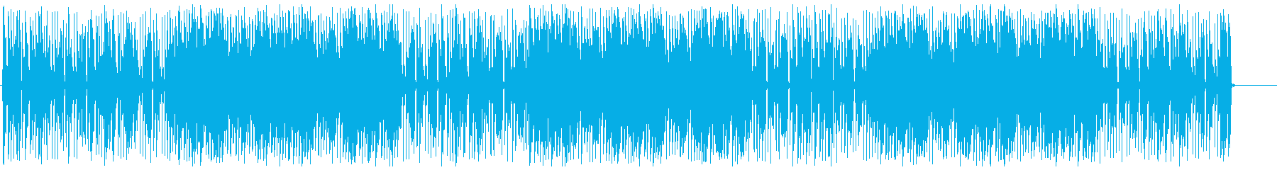Pop and cute techno's reproduced waveform