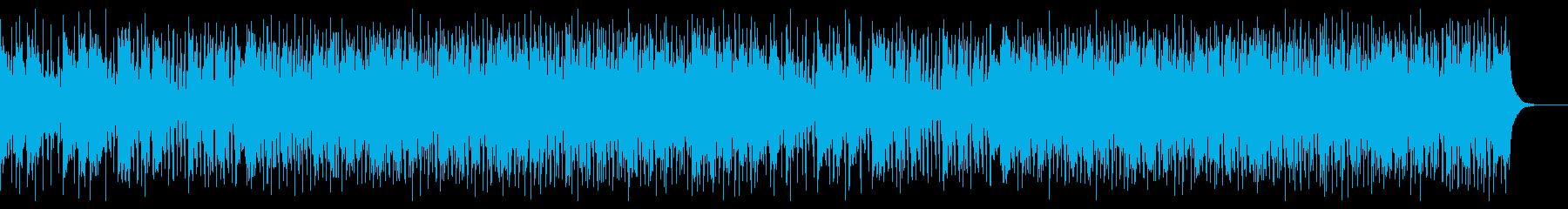 挑戦心をイメージしたコーポレート系BGMの再生済みの波形
