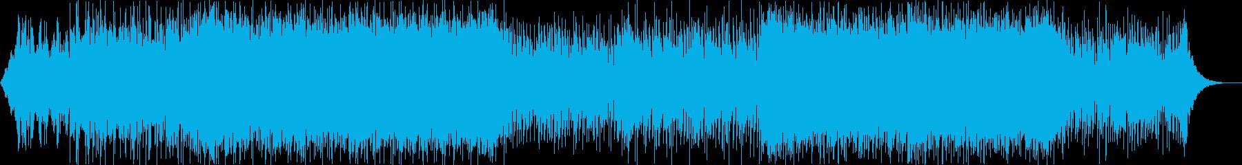 怪しい研究所のようなBGMの再生済みの波形