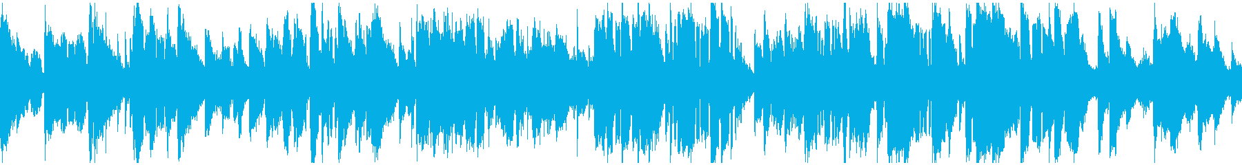 現代ジャズ、艶やか素敵サックス※ループ版の再生済みの波形