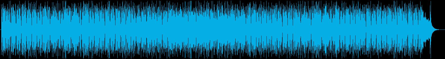 限界突破のファンキーなソウル調ポップスの再生済みの波形
