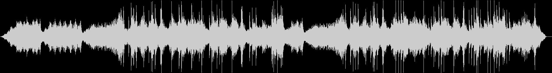 ソルフェジオ周波数による癒しのピアノ曲の未再生の波形