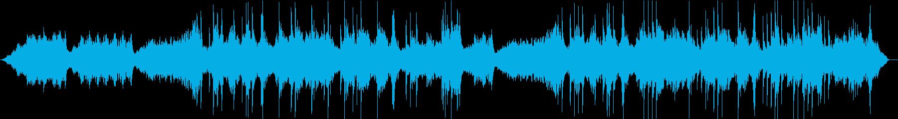 ソルフェジオ周波数による癒しのピアノ曲の再生済みの波形
