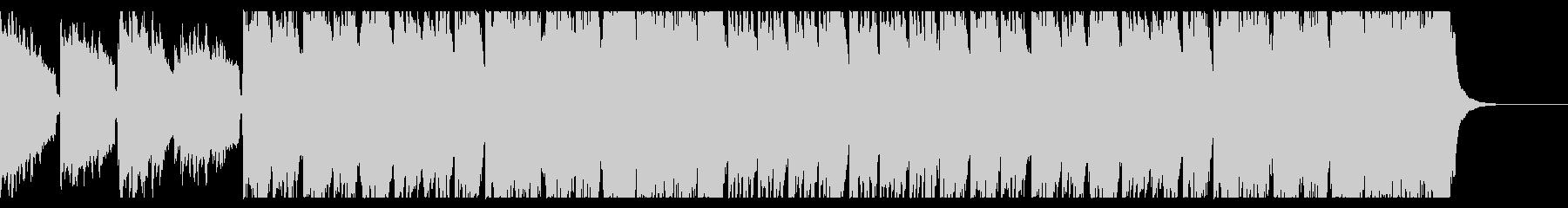 和風なハープと尺八BGMの未再生の波形
