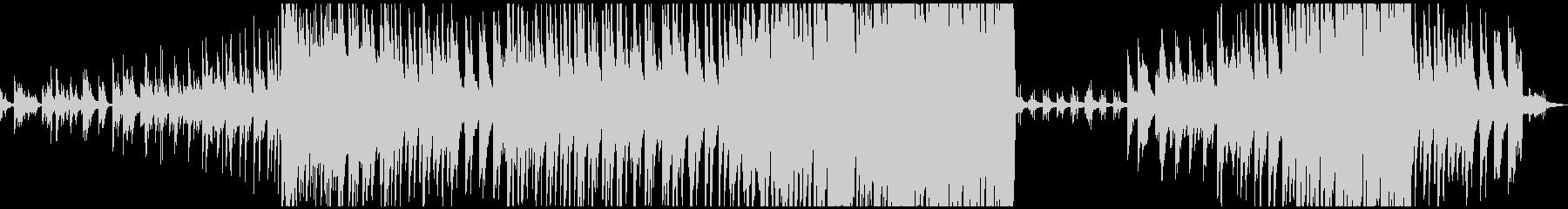 ベース、ドラムなし 大音量版の未再生の波形