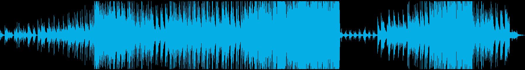 ベース、ドラムなし 大音量版の再生済みの波形
