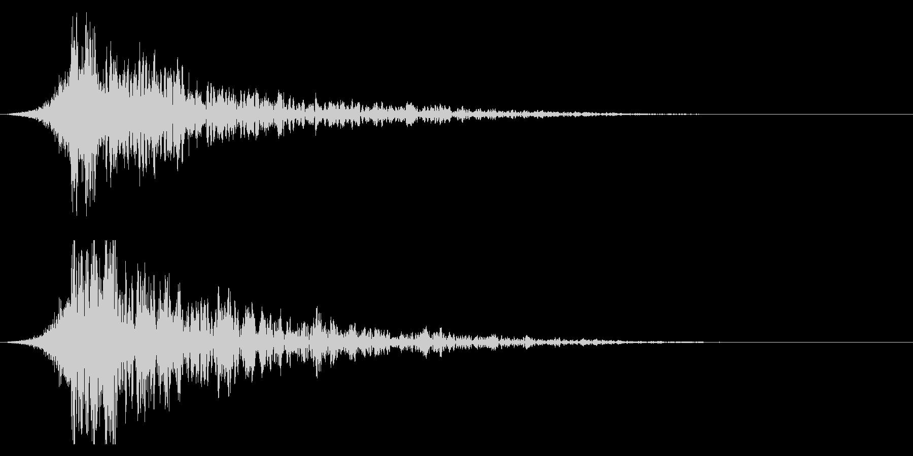 シュードーン-35-2(インパクト音)の未再生の波形
