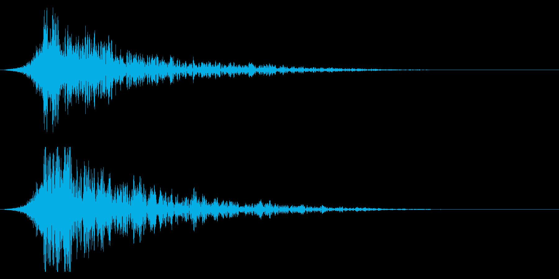 シュードーン-35-2(インパクト音)の再生済みの波形