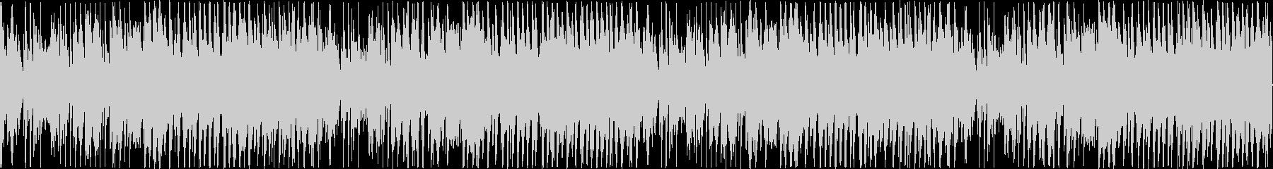エレガンスでかわいいフルートのメロディの未再生の波形
