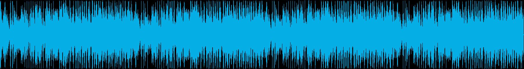 エレガンスでかわいいフルートのメロディの再生済みの波形