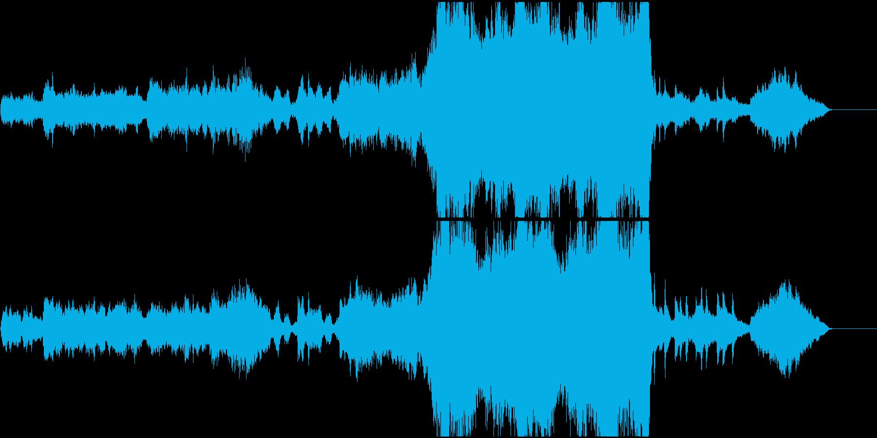 ファンタスティックなオープニングの再生済みの波形