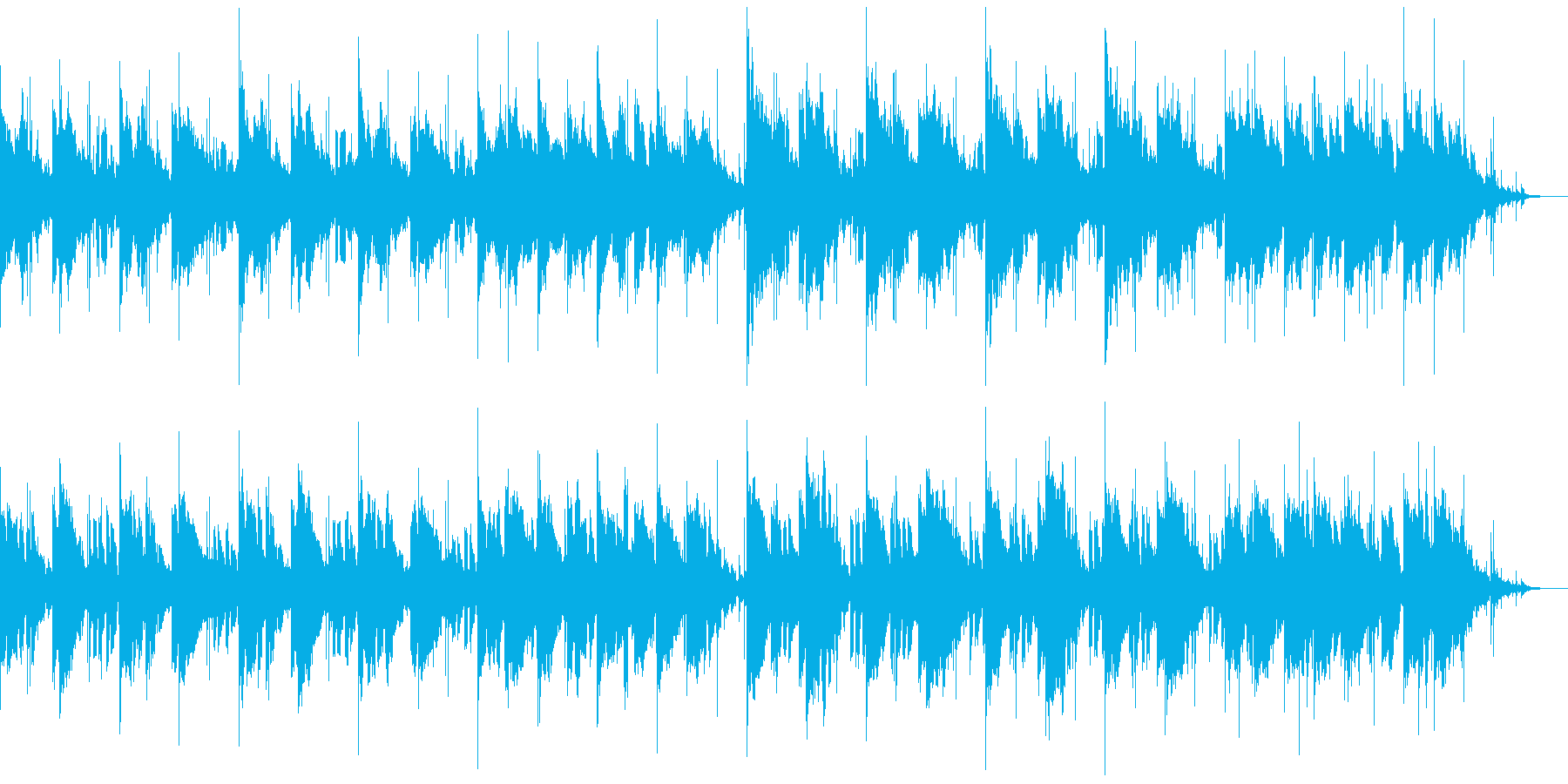 謎めいた女 エレピ+ドラム ベースなしの再生済みの波形