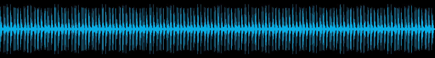 ハートビート:低周波ビーティング病...の再生済みの波形