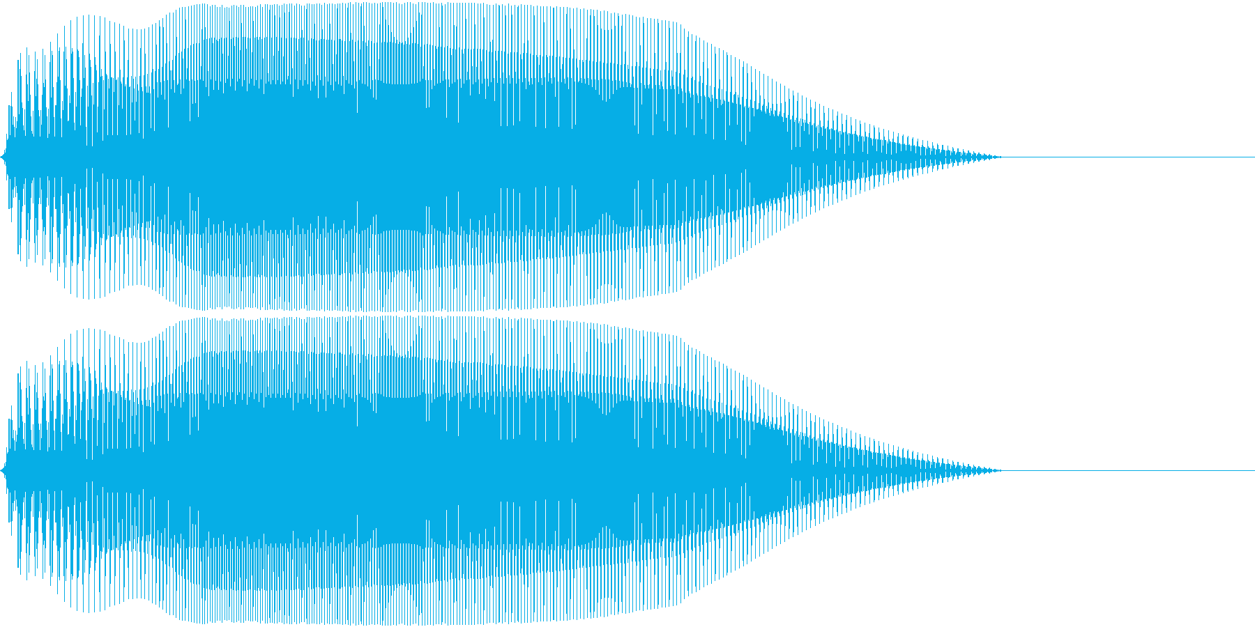 Game 横スクロール系ゲーム 効果音4の再生済みの波形