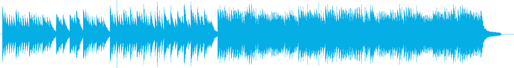 桜・卒業式 優しくて少し切ないピアノソロの再生済みの波形