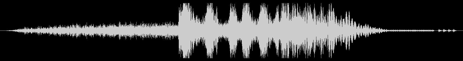 レーザーキャノン:マルチブラスト、...の未再生の波形