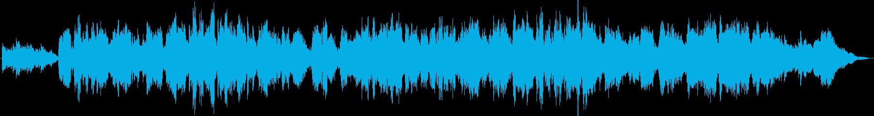 フルート&アコギ優しくて切ないヒーリングの再生済みの波形