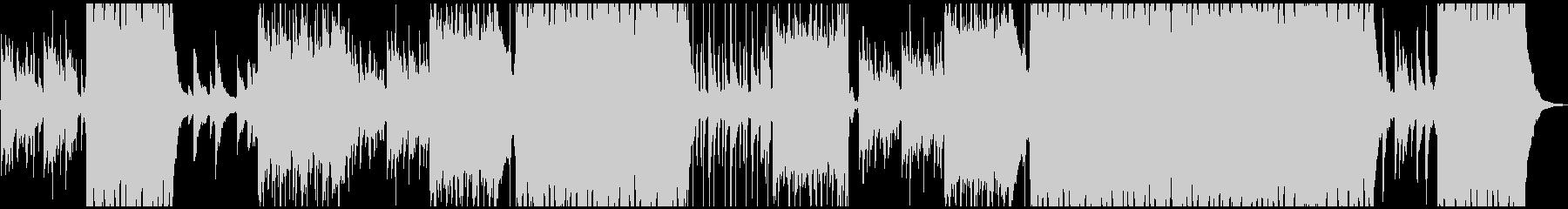 ピアノとシンセリードが印象的なエレクトロの未再生の波形