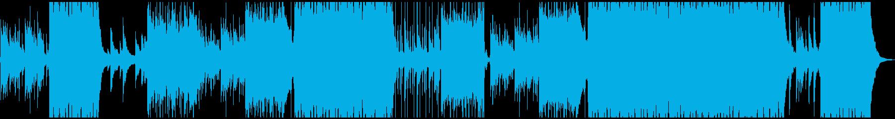 ピアノとシンセリードが印象的なエレクトロの再生済みの波形