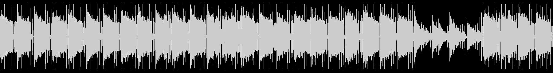 エレピ主体のLo-Fi CHILLループの未再生の波形