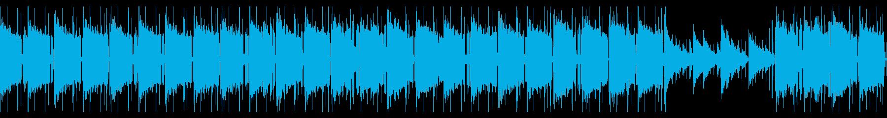 エレピ主体のLo-Fi CHILLループの再生済みの波形