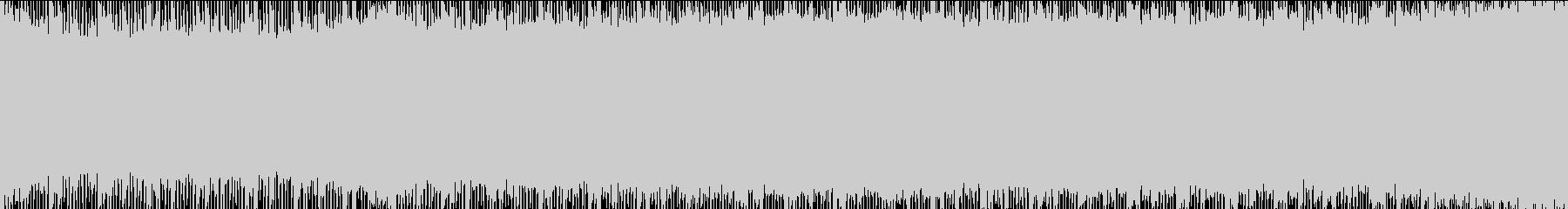 浮遊感のあるspacyなBGMの未再生の波形