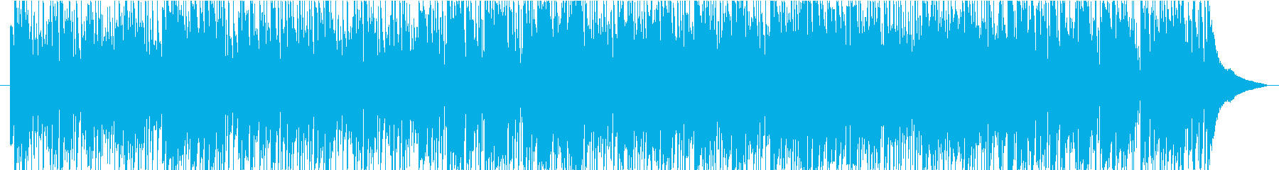 クールで軽快なサックスのフュージョンの再生済みの波形