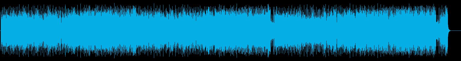アダルトなジャズ/フュージョンの再生済みの波形