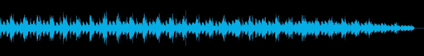【ループB】クールなテクノトラックの再生済みの波形