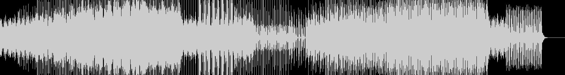 テクノ エレクトロ シューティングゲームの未再生の波形