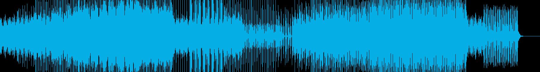 テクノ エレクトロ シューティングゲームの再生済みの波形