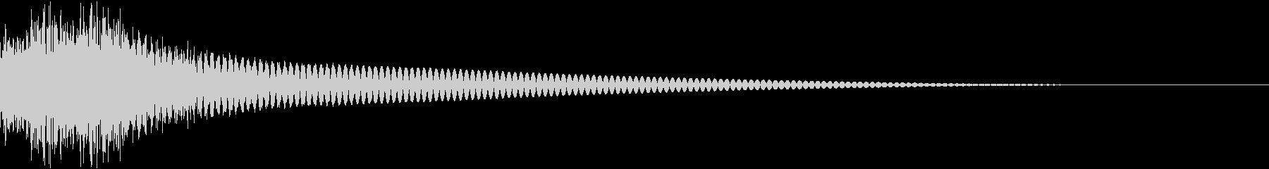 アナログゲーム 音 プレイ コイン 05の未再生の波形