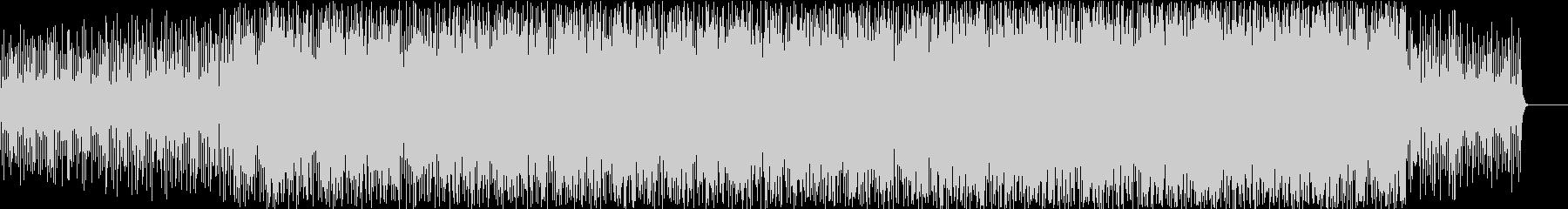 時間の流れを音楽にしてイメージしたBGMの未再生の波形