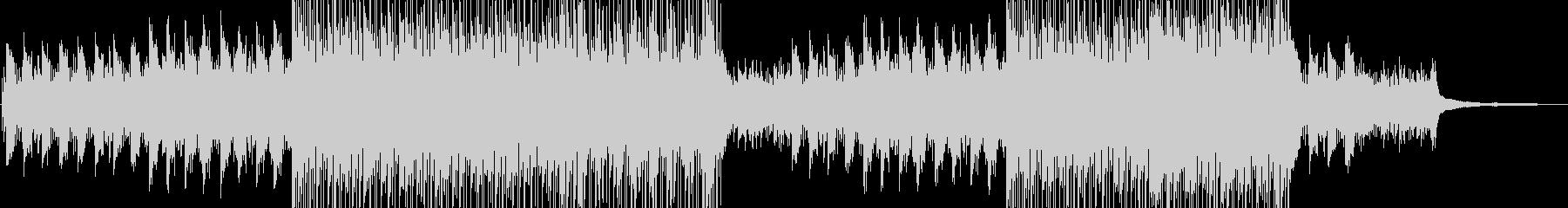 ストリングス シリアスなシネマティック曲の未再生の波形