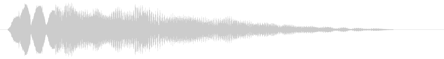 ピョリリリ(鳥の声系)の未再生の波形