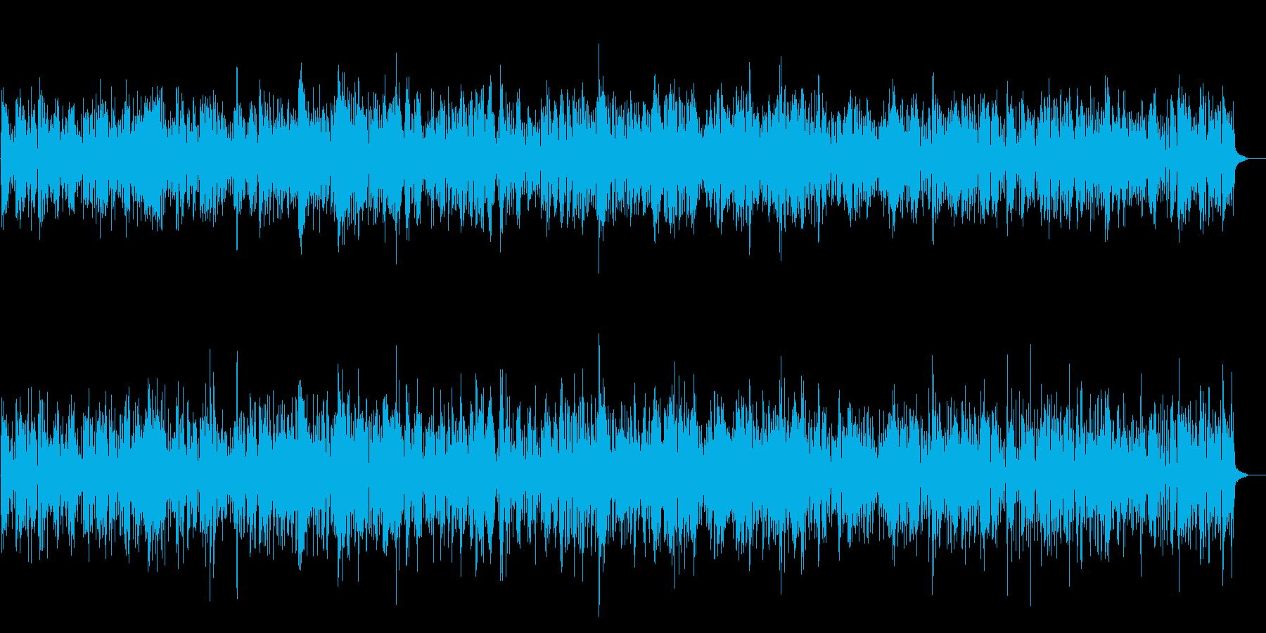 JAZZ★軽快で明るいジャズBGMの再生済みの波形