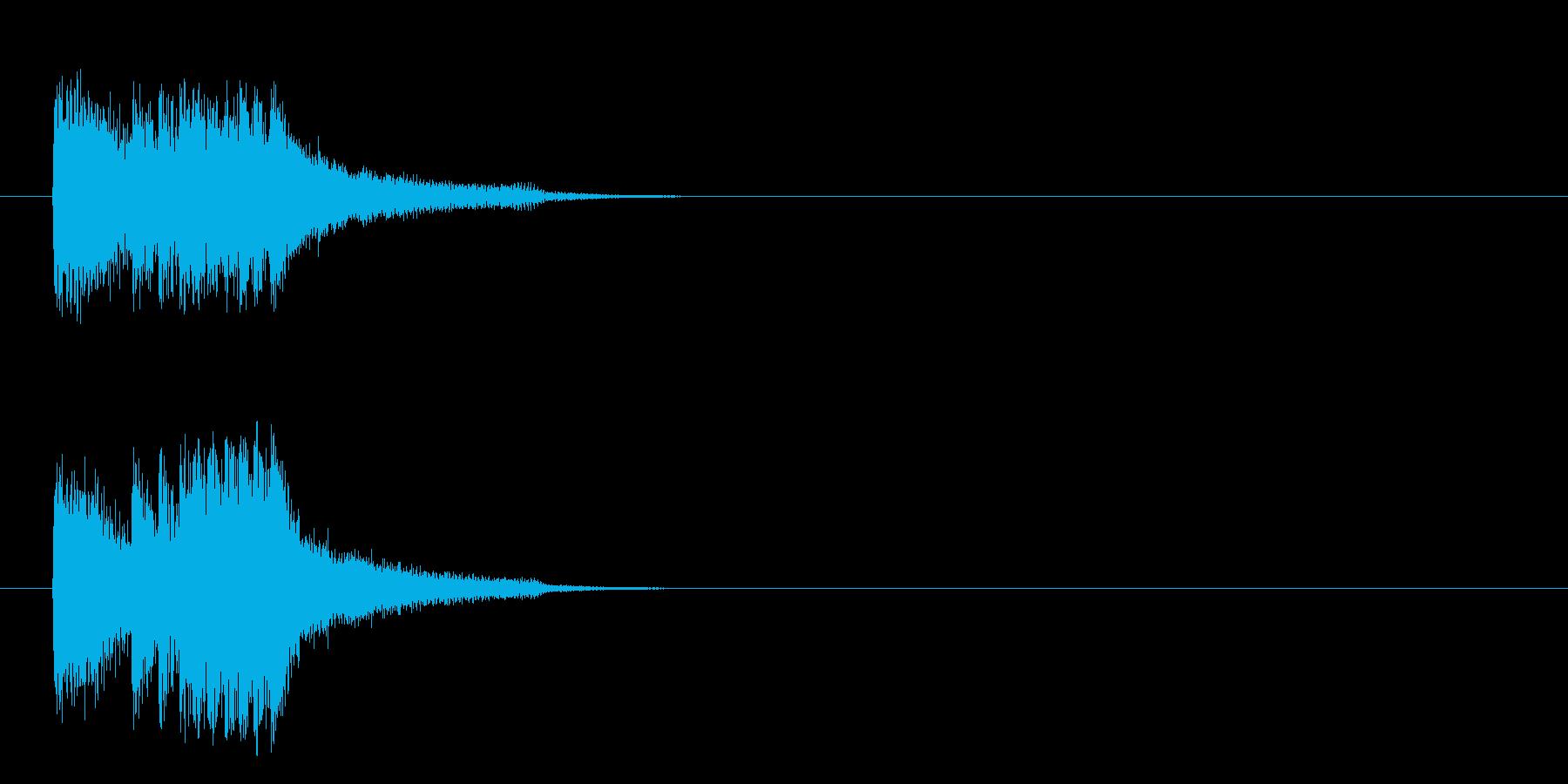 ジングル/SE(サスペンス/場面転換風)の再生済みの波形